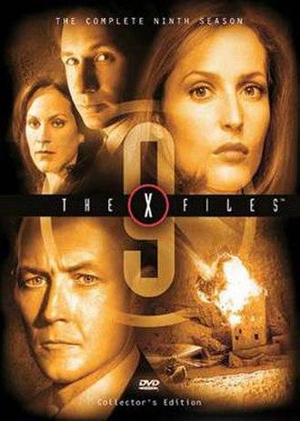The X-Files (season 9) - DVD cover