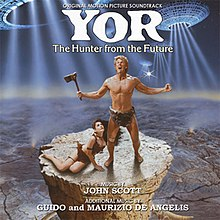 Yor, the Hunter from the Future (soundtrack album - cover art).jpg