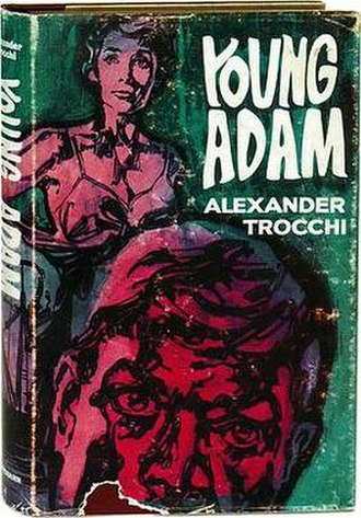 Young Adam - Heinemann, 1961 First UK edition cover