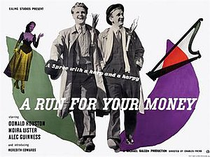 "A Run for Your Money - Image: ""A Run for Your Money"" (1949)"