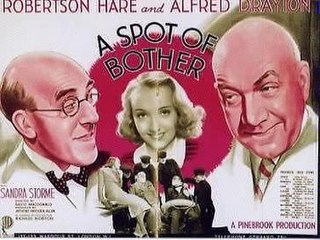 <i>A Spot of Bother</i> (film) 1938 film by David MacDonald
