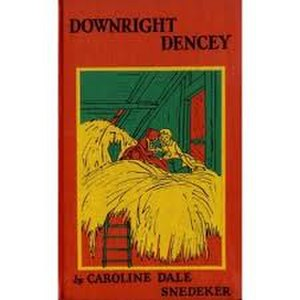 """Downright Dencey - Image: """"Downright Dencey"""" first edition book cover"""