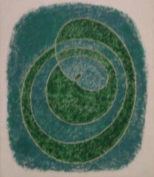 Josef Albers - Josef Albers, Proto-Form (B), oil on fiberboard, 1938, Hirshhorn Museum and Sculpture Garden