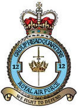 No. 12 Group RAF - Image: 12 Group RAF Crest