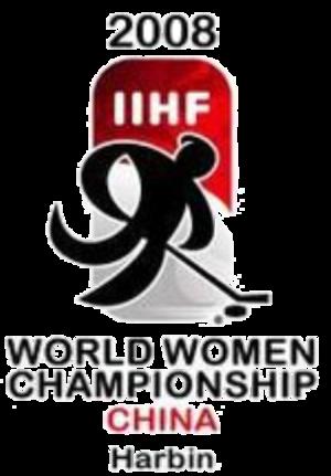 2008 IIHF Women's World Championship - Image: 2008 IIHF Women's World Championship