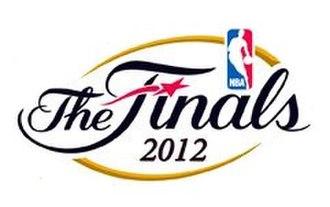 2012 NBA Finals - Image: 2012 NBA Finals Logo