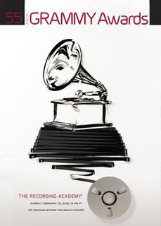 55th Annual Grammy Awards event held on February 10, 2013