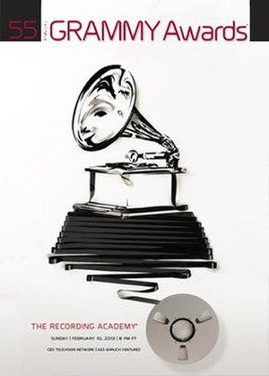 55th Annual Grammy Awards - Official poster by Erika Iris Simmons
