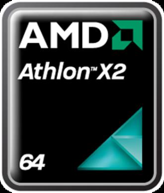 Athlon 64 X2 - Image: AMD Athlon 64 X2 logo