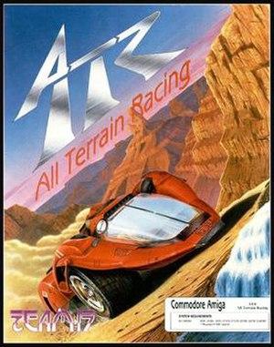 ATR: All Terrain Racing - Artwork for the Amiga release of ATR: All Terrain Racing.