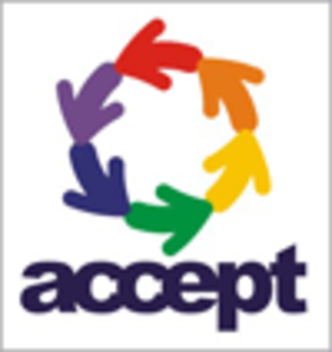 Accept (organization) - Image: Accept logo