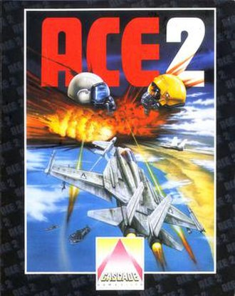 Ace 2 (video game) - Image: Ace 2 flight simulator cover