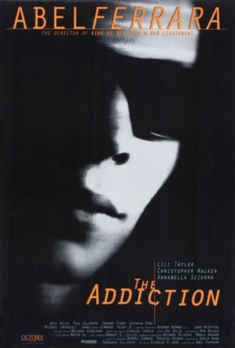 The Addiction - Theatrical release poster