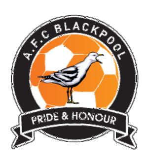 A.F.C. Blackpool - Image: Afc blackpool logo