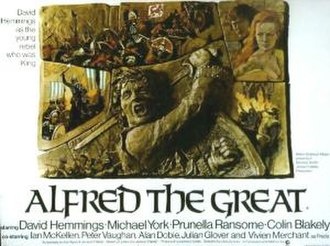 Alfred the Great (film) - Image: Alfredgreatposter