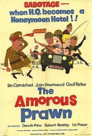 The Amorous Prawn - Original film poster