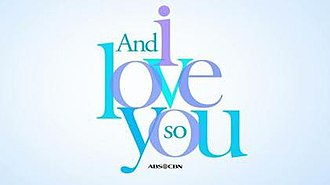And I Love You So (TV series) - Image: Andiloveyousotitleca rd