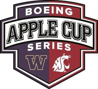 Apple Cup - Image: Apple cup logo