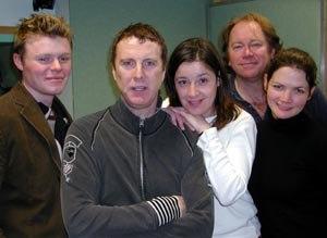Baldi (radio) - A promotional shot of the cast of Baldi