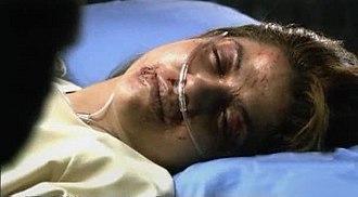 The Passage (Battlestar Galactica) - Kat lies dying on Galactica