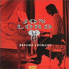 Before I Forget (album).jpg