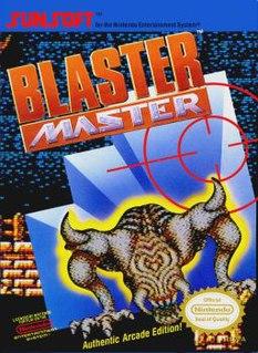 <i>Blaster Master</i> 1988 NES game