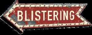 Blistering - Image: Blistering Logo