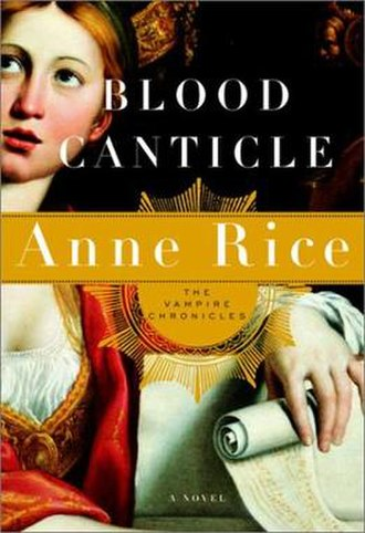Blood Canticle - First edition cover