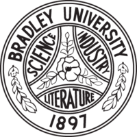 Bradley University Seal Black.png