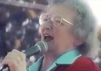 Brownie Mary - Brownie Mary speaking at People's Park