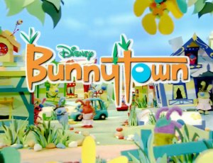 "Bunnytown - The title card for the Playhouse Disney series ""Bunnytown"""