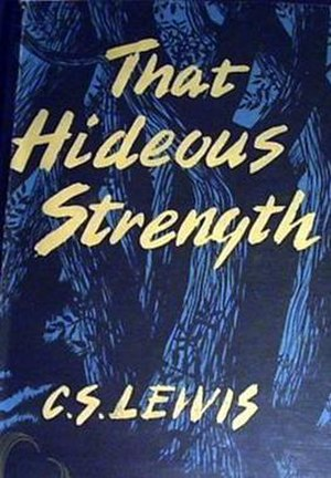 That Hideous Strength - First edition cover