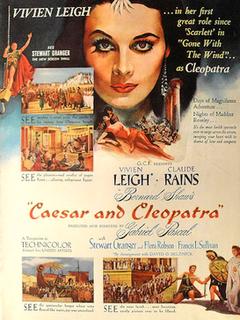 <i>Caesar and Cleopatra</i> (film) 1945 film by Gabriel Pascal