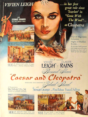 Caesar and Cleopatra (film) - theatrical release poster