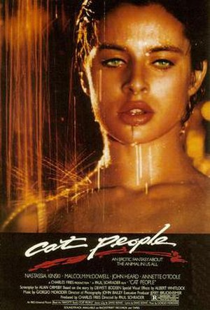 Cat People (1982 film) - Theatrical release poster
