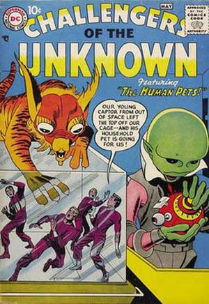 Challengers of the Unknown - Image: Challeng unknown 01