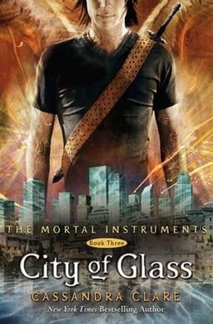 City of Glass (Clare novel) - American cover of the book City of Glass.