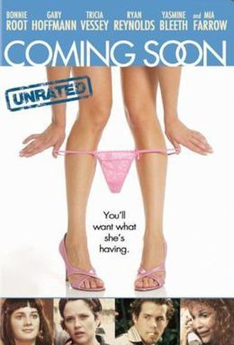 Coming Soon (1999 film) - DVD cover