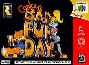 Conker's Bad Fur Day - Image: Conkersbfdbox