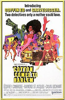 <i>Cotton Comes to Harlem</i> 1970 American action film by Ossie Davis