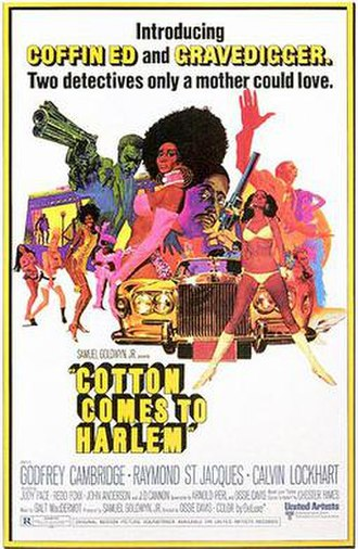 Cotton Comes to Harlem - Theatrical release poster by Robert McGinnis