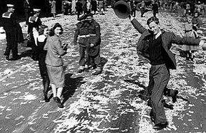 Dancing Man - Dancing Man, Sydney, Australia, 15 August 1945