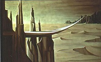 Kay Sage - Image: Danger, Construction Ahead