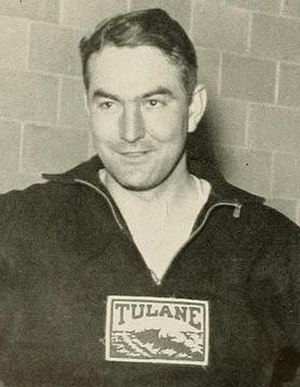 Ray G. Dauber - Dauber pictured in Jambalaya 1935, Tulane yearbook