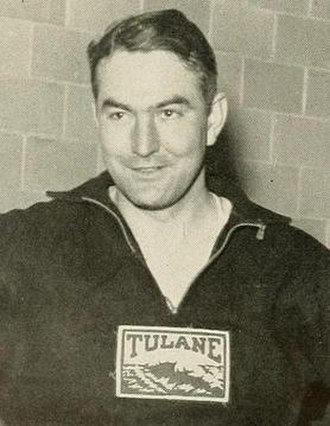 Ray G. Dauber - Dauber pictured in Jambalaya 1935, Tulane yearbook