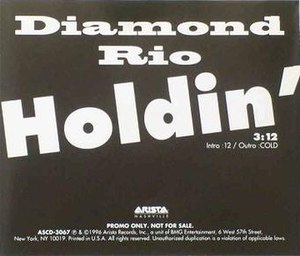 Holdin' - Image: Diamondrio 423820