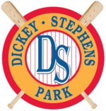 Dickey-Stephens Park logo.png