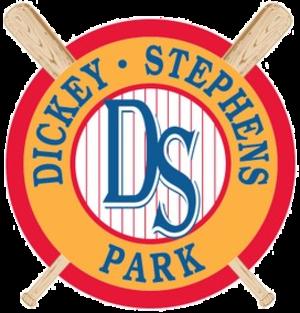 Dickey-Stephens Park - Image: Dickey Stephens Park logo