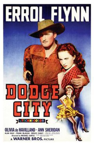 Dodge City (film) - Image: Dodge City 1939 Poster