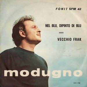 Volare (song) - Image: Domenico Modugno Nel blu dipinto di blu (Cover)